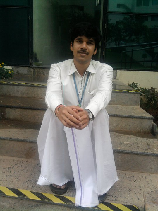 Me in a lungi