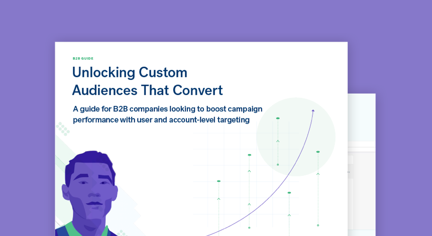 Unlocking custom audiences that convert