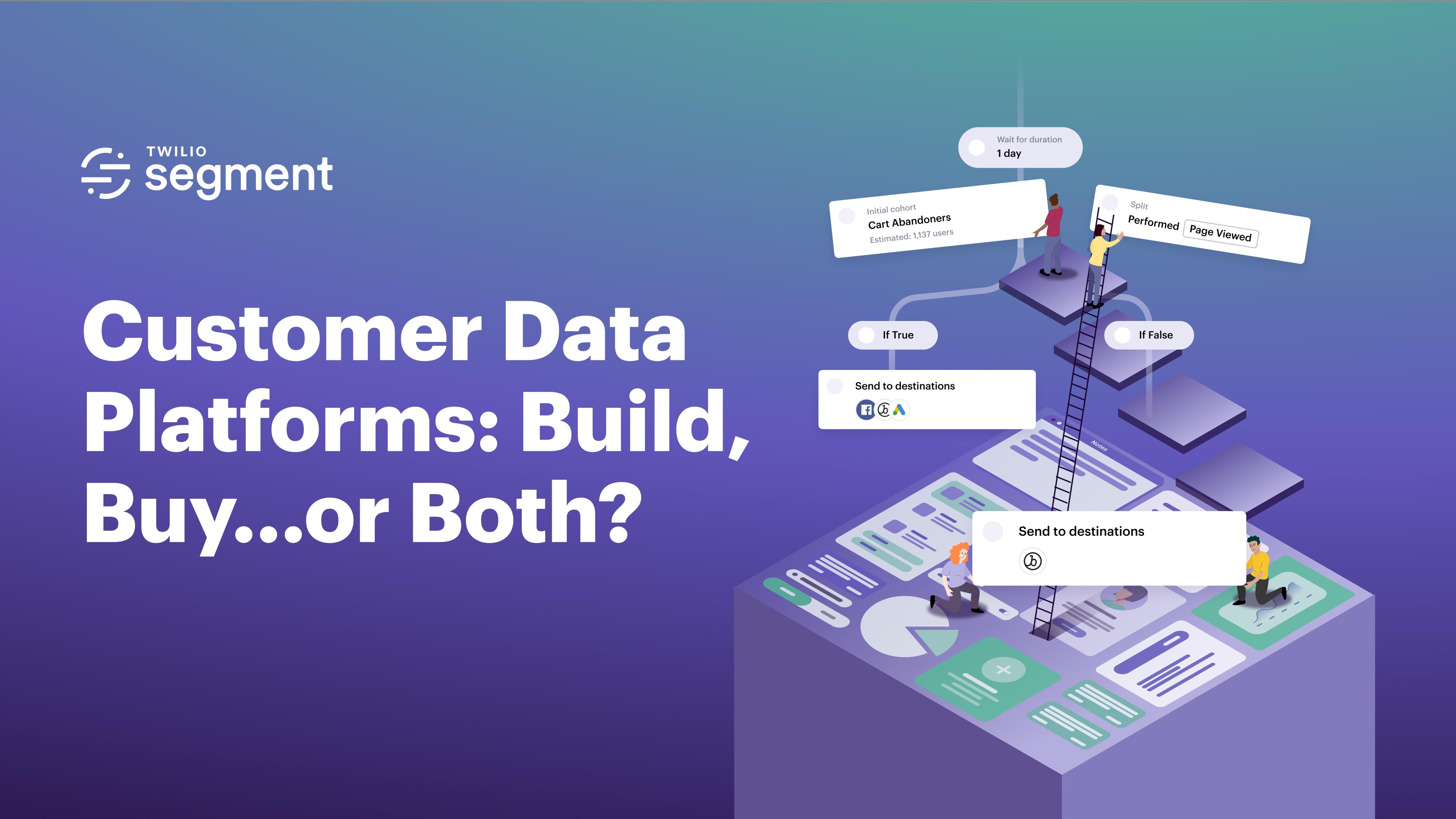 万博官方购彩客户数据平台:构建、购买……还是两个?