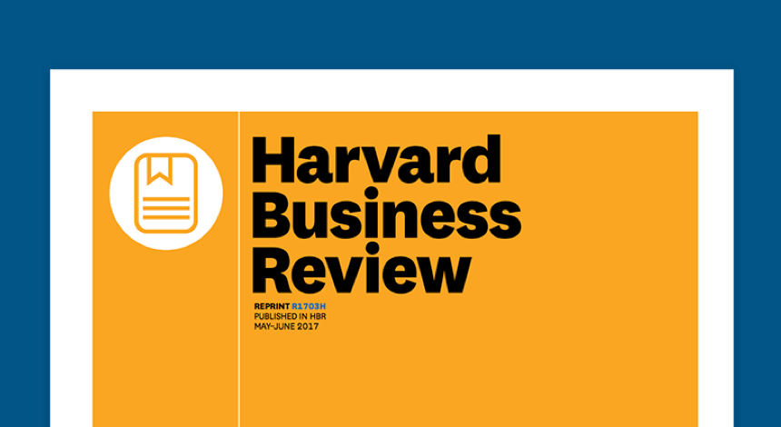 HBR Article: What's Your Data Strategy?