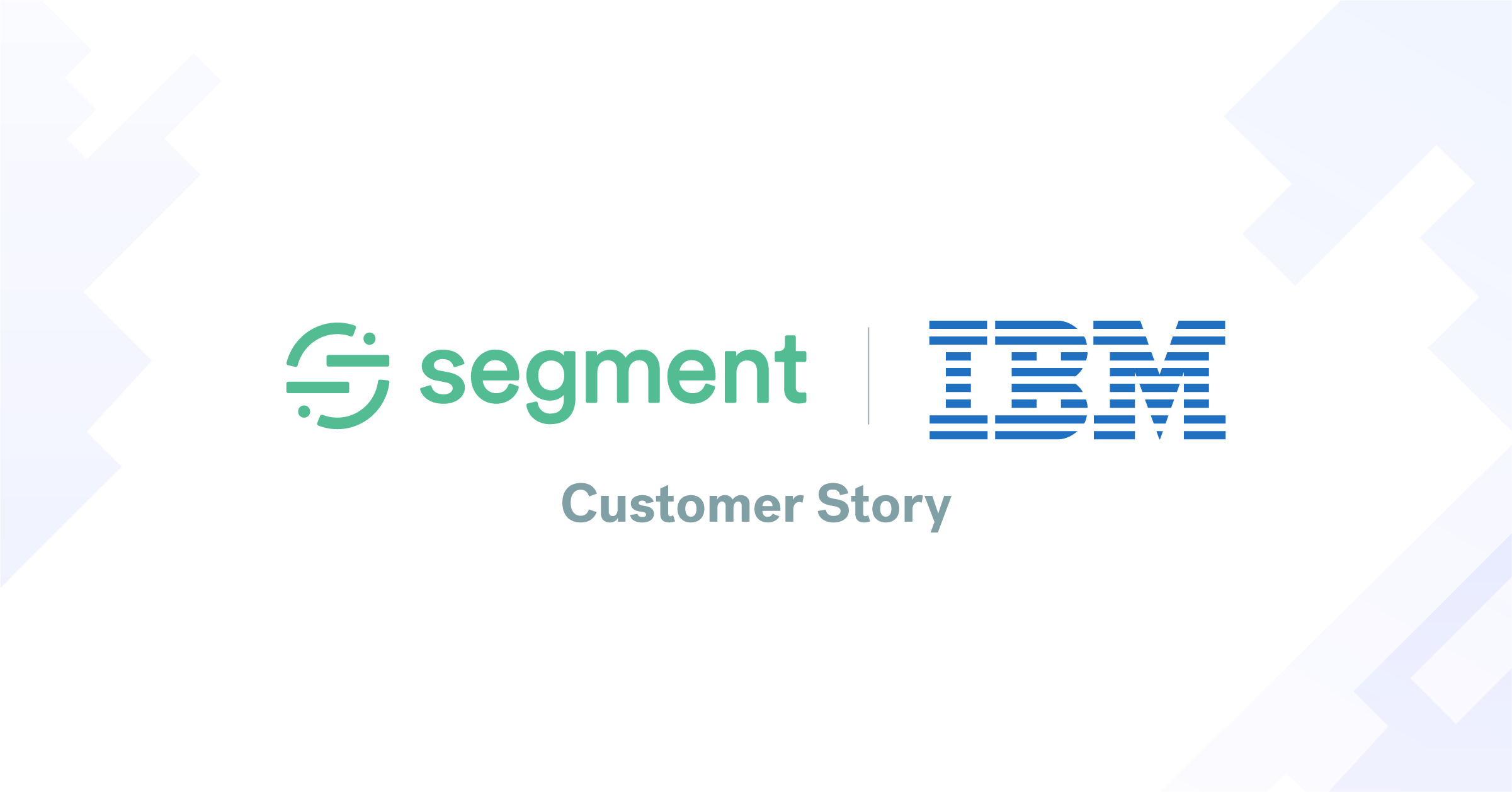 Why IBM enlists Segment to standardize data across its cloud platform