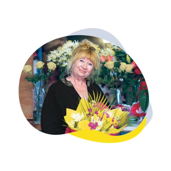 Image of Ngaire Hopwood from Forget Me Not Florist – Rodney Yellow Book 2019
