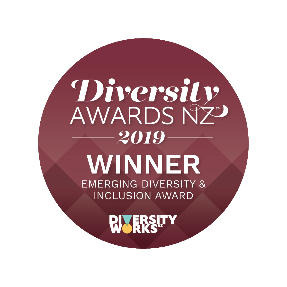 Badge image: Emerging Diversity and Inclusion - Winner