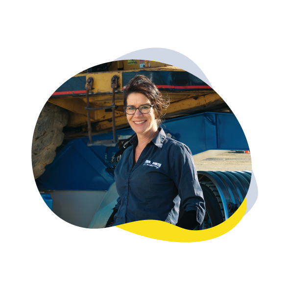 Image of Tania Moir from Paul Smith Earthmoving 2002 Limited  – Timaru Yellow Book 2019
