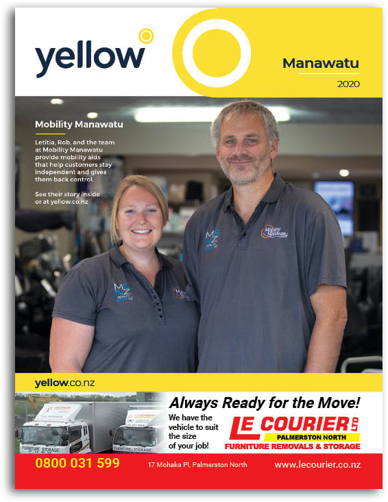 Manawatu Yellow Book Cover Image