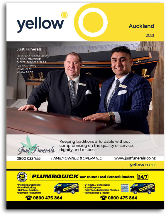 Auckland Yellow Book Cover