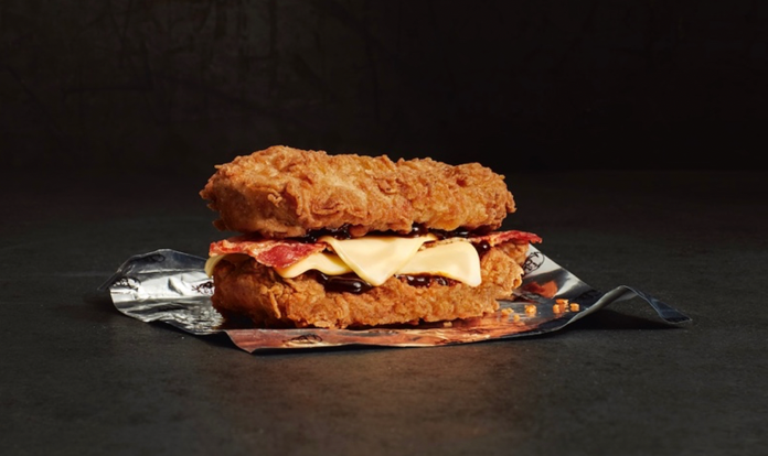 double down burger