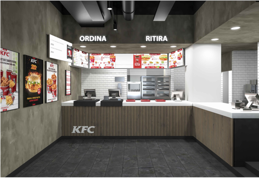 KENTUCKY FRIED CHICKEN OPENS IN ROME TIBURTINA AND EXTENDS ITS PRESENCE IN THE GREAT ITALIAN STATIONS