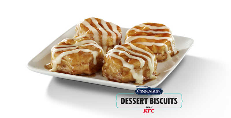 KFC U.S. GIVES MOMS THE ULTIMATE MOTHER'S DAY PRESENT- FREE CINNABON DESSERT BISCUITS AND A HUNK OF CHICKEN LOVE