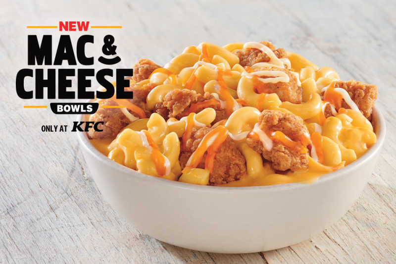 KFC US INTRODUCES MAC & CHEESE BOWLS: THE FAN-FAVORITE SIDE DISH IS NOW A MAIN MEAL
