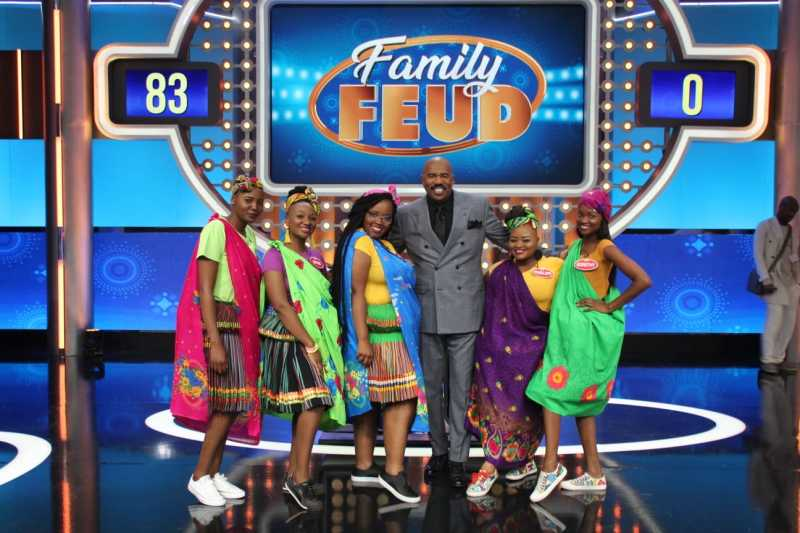KFC IS THE OFFICIAL SPONSOR OF FAMILY FEUD SOUTH AFRICA DURING THE FIRST SEASON