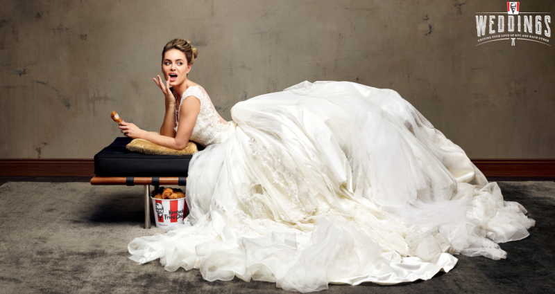 KFC SAYS, 'I DO' TO BRAND NEW WEDDING PLANNING SERVICE, EXCLUSIVE TO 'STRAYA