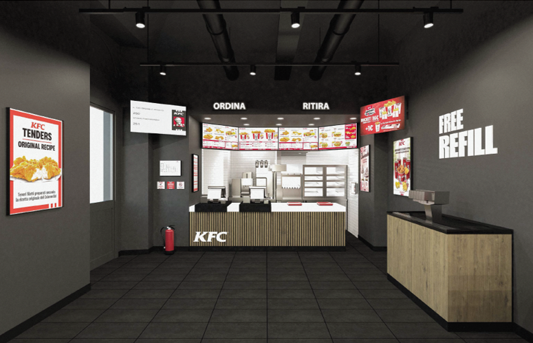 KFC - KENTUCKY FRIED CHICKEN ARRIVES IN THE HEART OF CATANIA IN THE VERY CENTRAL PIAZZA SPIRITO SANTO