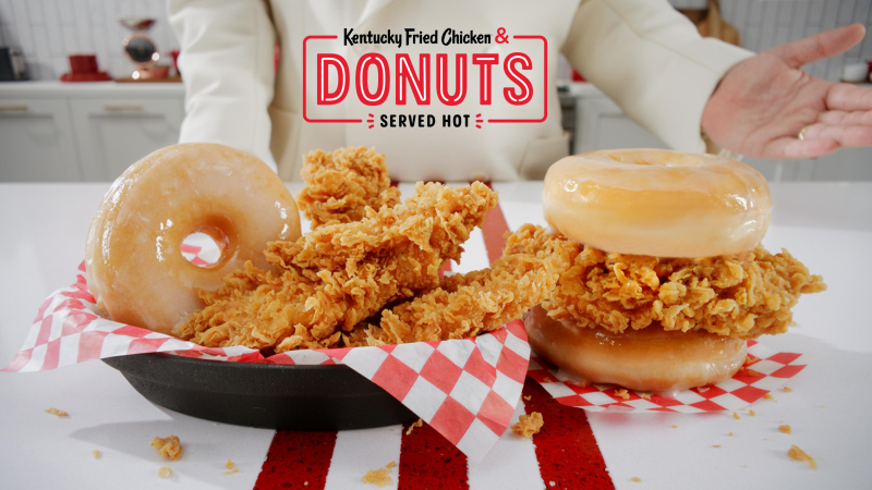 KFC U.S. BRINGS PIPING HOT KENTUCKY FRIED CHICKEN & DONUTS TO ITS  RESTAURANTS NATIONWIDE