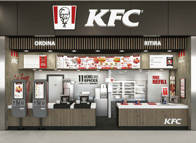 KFC ITALY OPENS NEW RESTAURANT IN LE CUCINE DI CURNO ON NOVEMBER 28