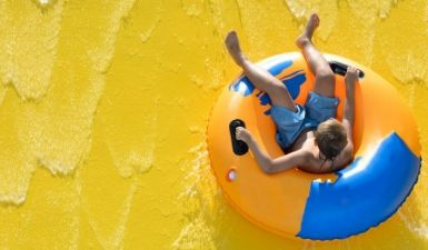 Water tube slide