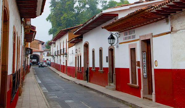 Charmante rue de Patzcuaro