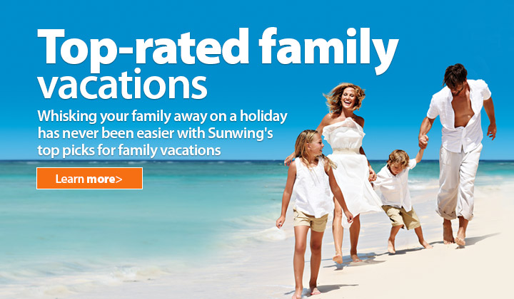 5381412f67a Family Vacations at Top-Rated Resorts | Sunwing.ca