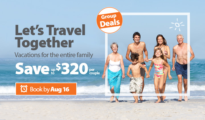 All Inclusive Group Vacation Packages | Book Today to Save!