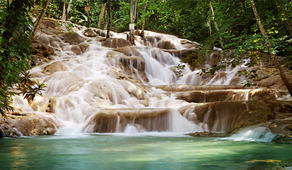 Chute d'eau en Jamaïque
