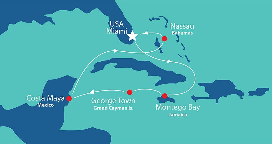 Itinerary - Western Caribbean