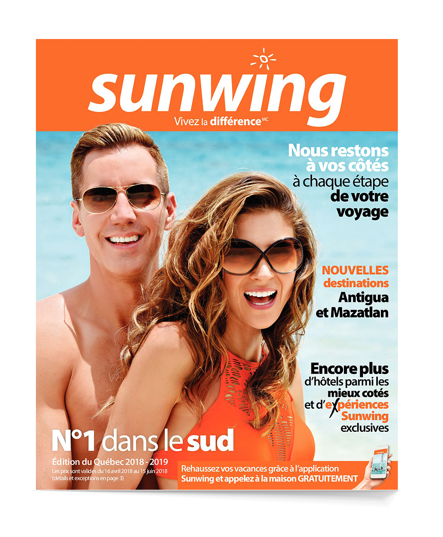 Sunwing National brochure
