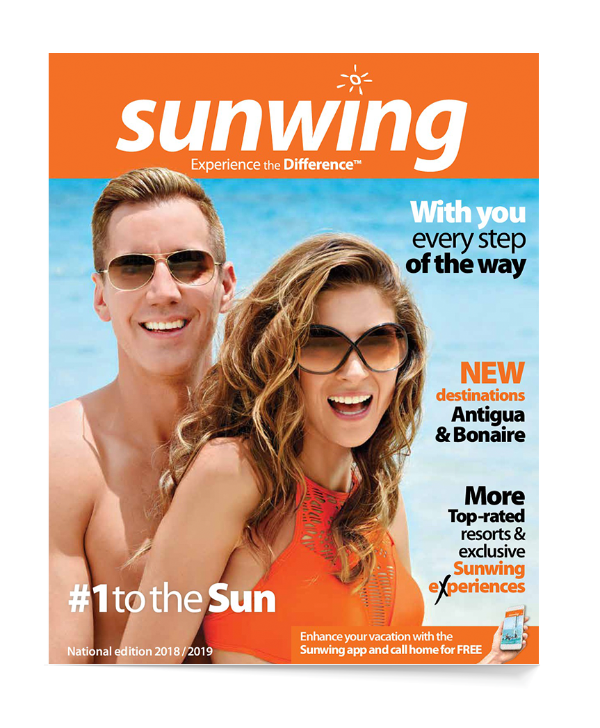 Sunwing National brochure
