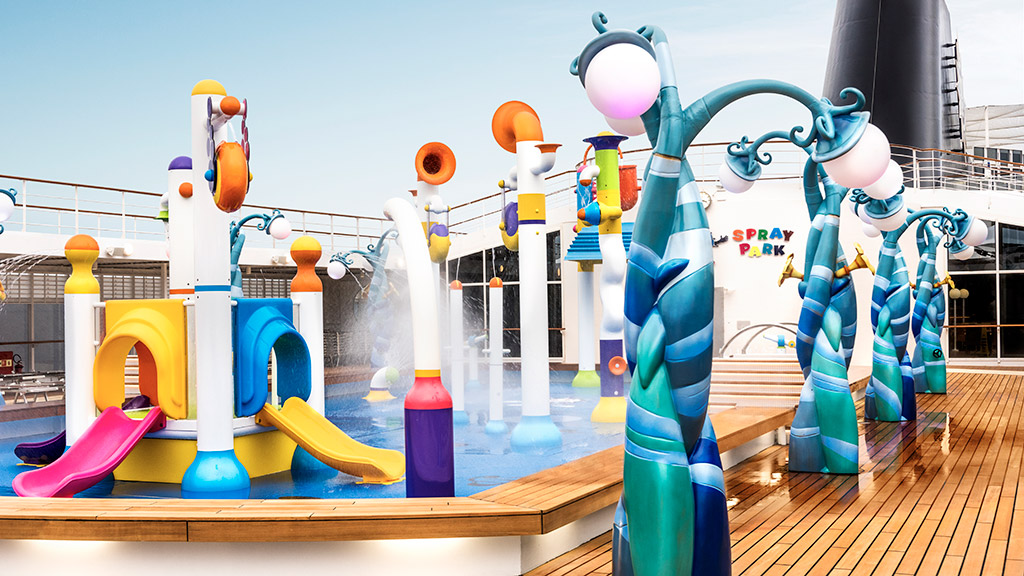 MSC Armonia - splash pool
