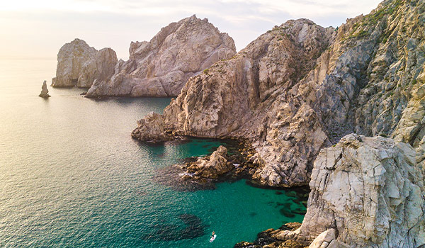 Rocky landscapes overlooking the Los Cabos coast