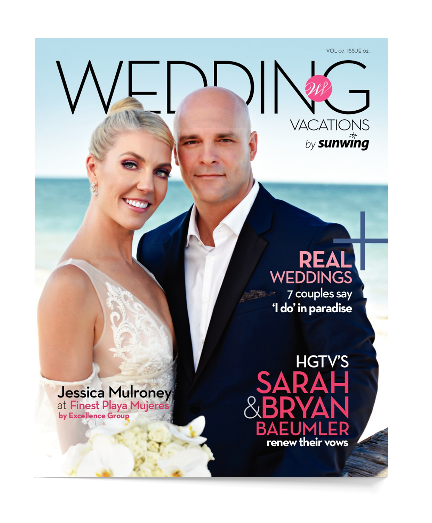 Sunwing wedding brochure