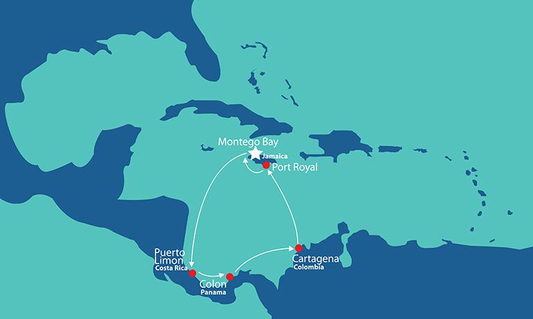Itinerary -  Panama Canal Experience