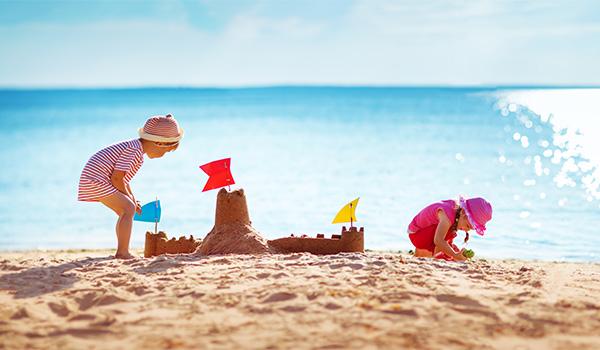 Château de sable sur la plage de Varadero
