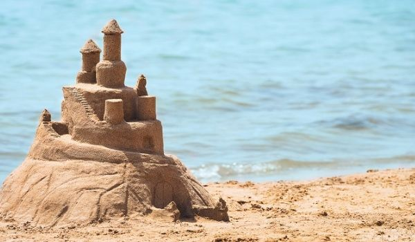 Sandcastle on Varadero Beach