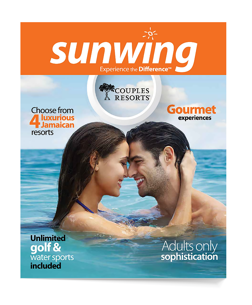 Sunwing Couples Resorts brochure