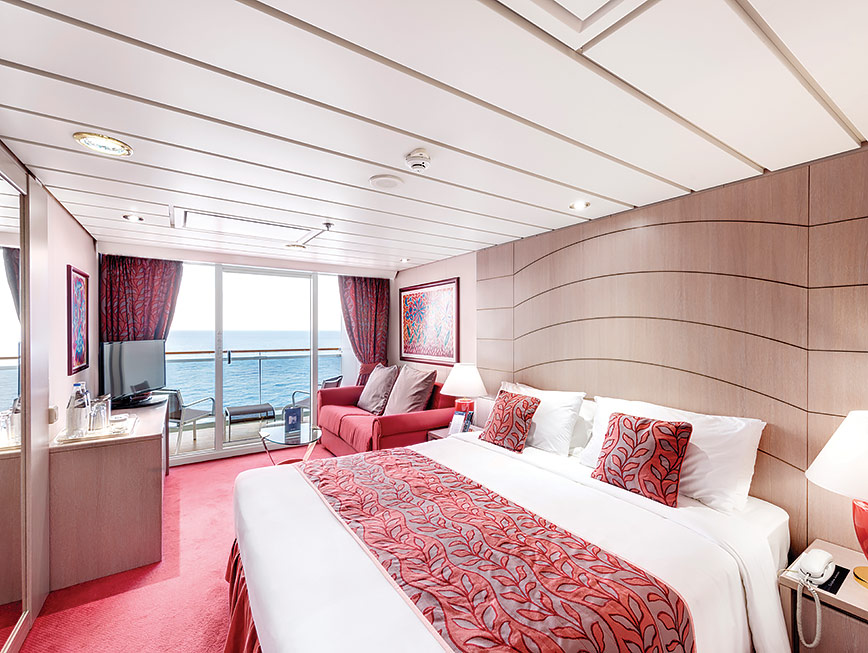 MSC Opera balcony stateroom