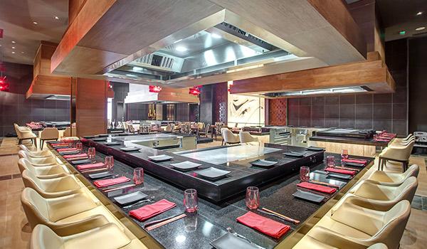 Restaurant asiatique Zen au Hideaway