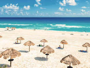Beautiful Beaches in Cancun