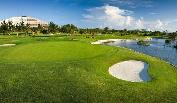 Parcours de golf sur place au Iberostar Cancun