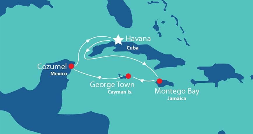 Cuba & Caribbean 3 from Havana