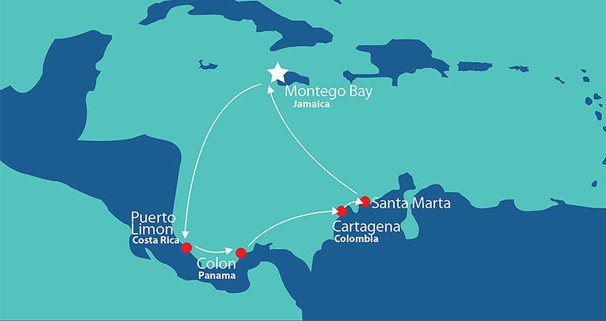 Itinerary - Pride of Panama 1