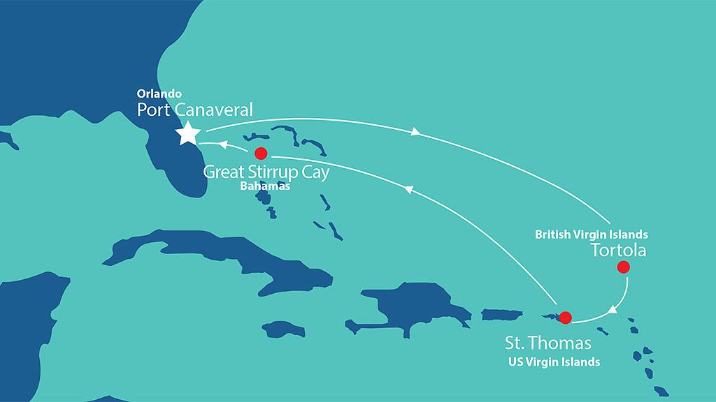 Itinerary - Eastern Caribbean