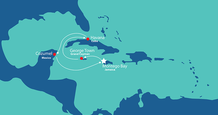 Itinerary - Flavour of the Caribbean