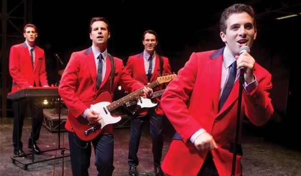 Group performing as the Jersey Boys