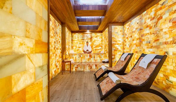 Chambre de sel au spa Grande