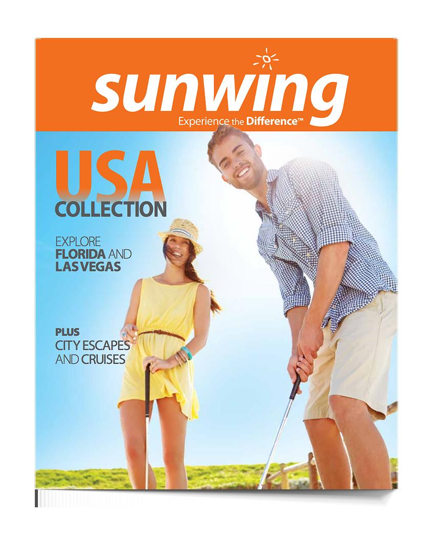 Sunwing US brochure