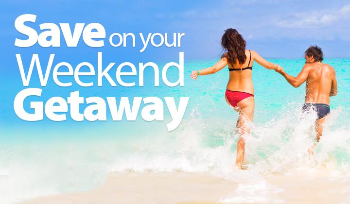 d5f16994dd30 Weekend Getaways