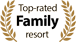 Top-rated family resort