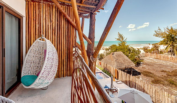 Unique nature-inspired accommodations at Mystique Blue Boutique Suites