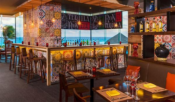 Restaurant au décor inspiré par la culture mexicaine