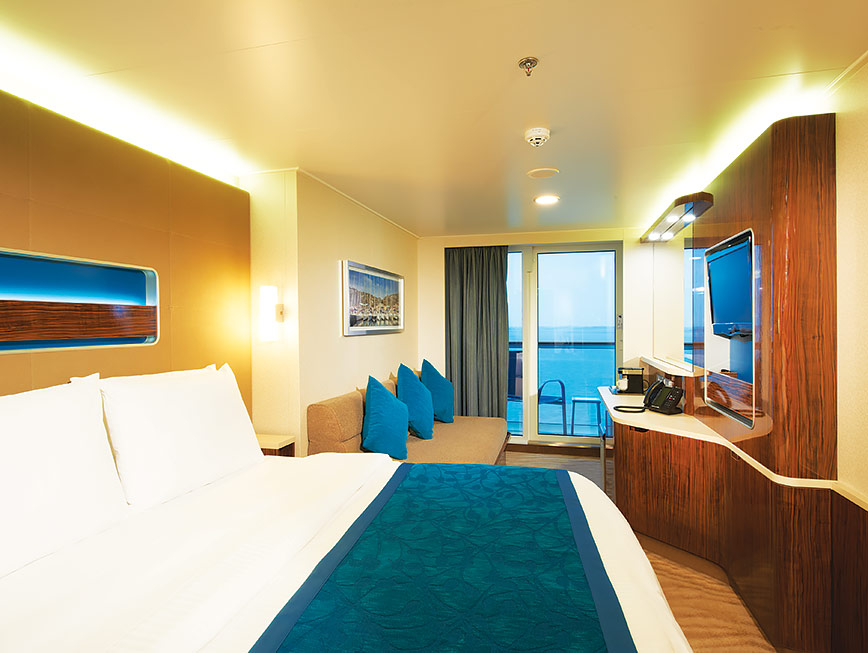 NCL Getaway balcony stateroom